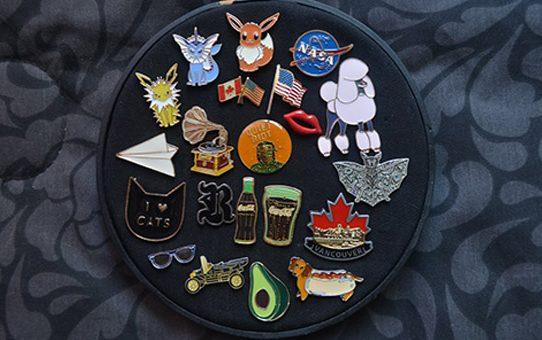 lapel pins display
