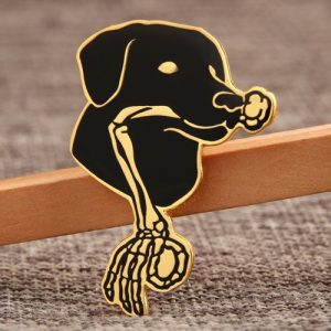 Black Dog Custom Lapel Pins