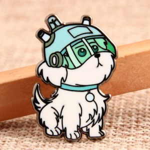 Custom Cute Dog Lapel Pins