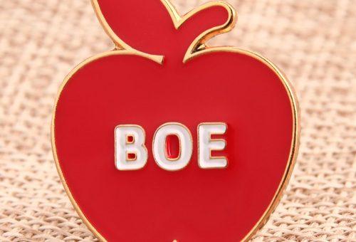 Apple Enamel Pins