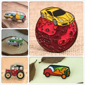 Car Custom Enamel Lapel Pins