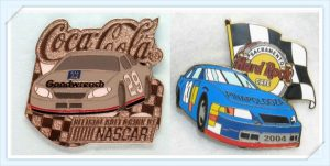 Racing Car Custom Enamel Pins