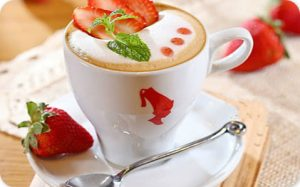 Strawberry Coffee