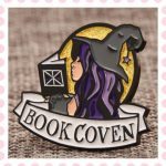 Book Coven Enamel Pins