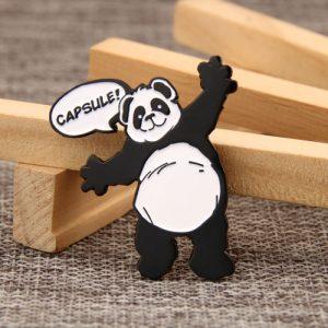 Panda Custom Enamel Pins