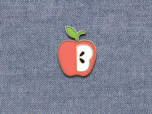 beglad pin mockup